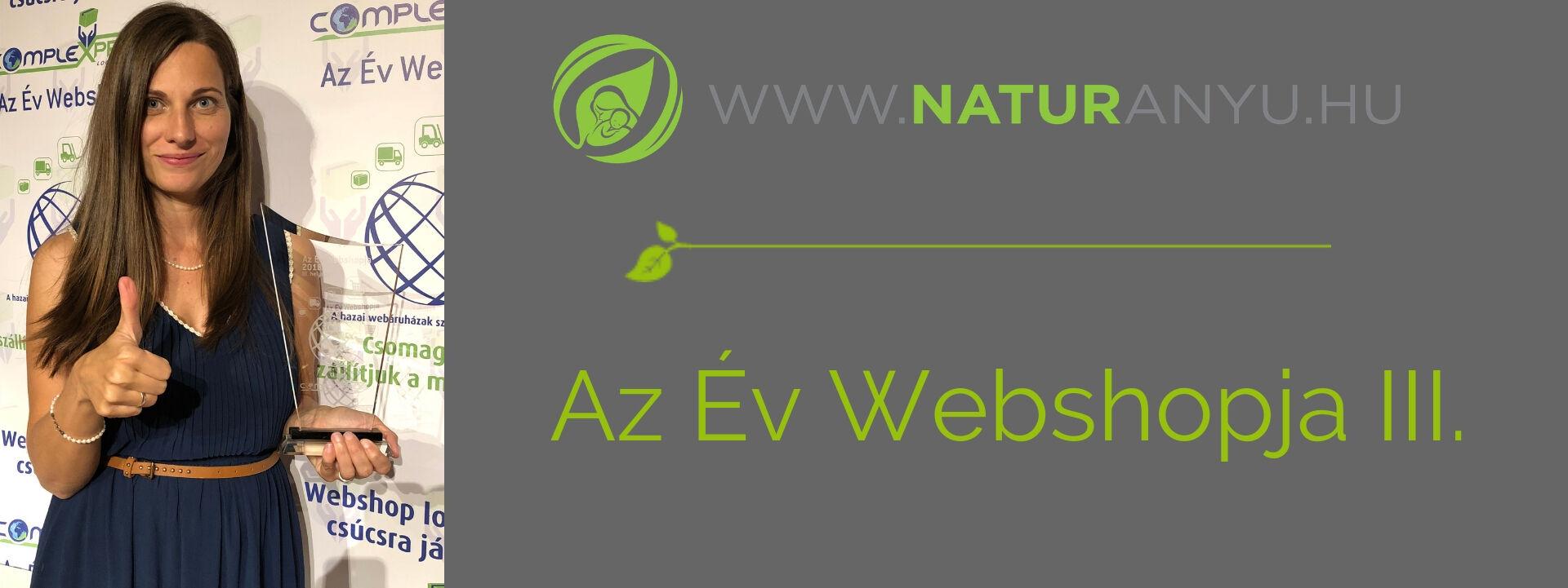 Év webshopja