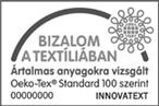 NaturAnyu Oeko-Tex Standard 100 tanusítvány leírás