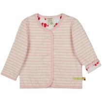 Kifordítható, patentos gyerek pulóver biopamutból