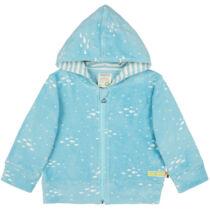 Könnyű, organikus pamut kapucnis gyerek pulcsi