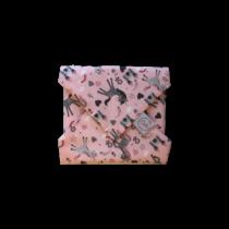Szendvics csomagoló újraszalvéta - Pink unikornisos