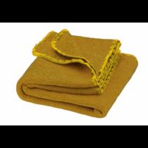 Disana melange merino gyapjú baba takaró, curry-gold 80x100 cm