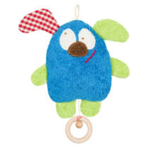 Felhúzható zenélő baba játék - Vidám daloló állatka