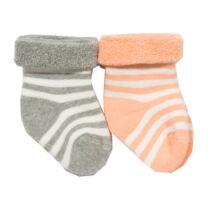 Bársonyosan puha bébiplüss gyerek zokni - 2 pár