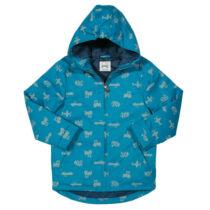 Belül steppelt vízlepergetős gyerek kabát