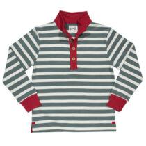 Divatos kényelmes kisfiú pulóver - puha organikus pamutból