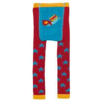 Kényelmes pihe-puha kisfiú harisnya - szuperhőssel