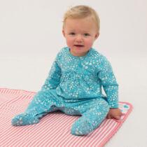 Pihe-puha édes kis biopamut 0-3 hónapos rugi - kislányoknak