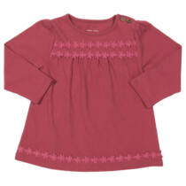 Egyszínű kislány tunika