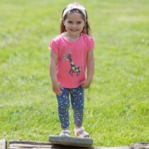Csillagmintás kislány legging