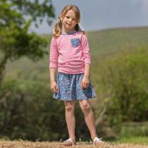 Csillagos lányka culotte nadrág