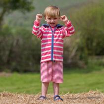 Divatos biopamut fiú pulóver