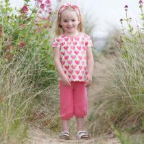 Helyes kislány póló epermintával