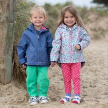 Könnyű vékony gyerek kabát kapucnival kislányoknak