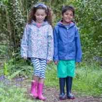 NaturAnyu Babaruha-Gyerekruha Könnyű vékony gyerek kabát kapucnival vízlepergető anyagból