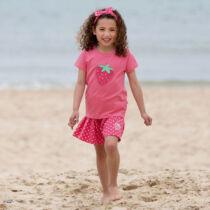 Pöttyös kislány culotte nadrág