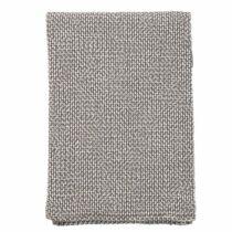 Klippan, kötött takaró 100% biopamut 130*180 cm - szürke