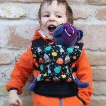 Liliputi® Buckle Mini Játék Csatos hordozó szörnyecskés