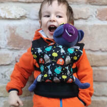 Liliputi® Buckle Mini Játék Baba Kenguru Folk Tale