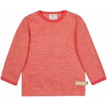 Designer melange hatású biopamut gyerek póló