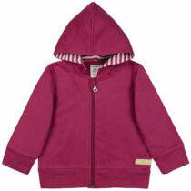Fenntartható kapucnis gyerek pulóver biopamutból