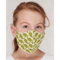 Mosható gyerek szájmaszk vidám mintákkal biopamutból - 3 darab