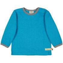 Egyszínű vastagabb biopamut gyerek póló