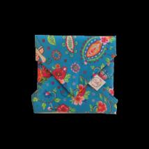 Szendvics csomagoló mosható szalvéta - Kék paradicsommadaras