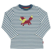 Ravaszdi a róka - vidám csíkos újszülött póló