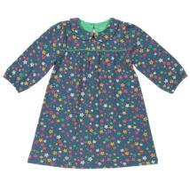Édes kis csillagmintás kislány ruhácska