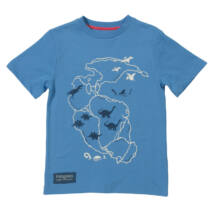 Biopamut gyerek póló Pangea mintával