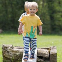 Aranyos éhes krokis kisfiú póló