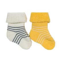 Pihe-puha biopamut baba zokni - 2 pár