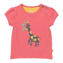 Organikus pamut póló zsiráffal