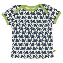 Biopamut, designer gyerek póló - rövidujjú