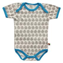 Biopamut, designer baba body - rövidujjú