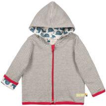 Biopamut, designer kifordítható gyerek pulcsi