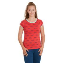 Biopamut designer női póló - rövidujjú - LIMITÁLT MODELL