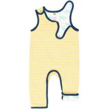 Biopamut, kifordítható kantáros nadrág, rugdalózó - LIMITÁLT MODELL