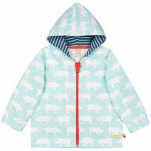 Vízlepergetős vékony gyerek kabát kapucnival - LIMITÁLT MODELL