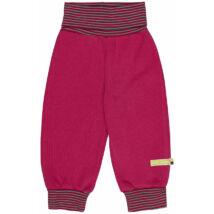 Magasított derekú, prémium minőségű, biopamut gyerek nadrág