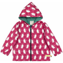 Vízlepergetős, designer, prémium minőségű baba kabát kapucnival, biopamut belsővel