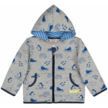 Designer, kapucnis gyerek pulcsi a legfinomabb organikus pamutból