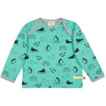 Hosszú ujjú designer gyerek póló organikus pamutból