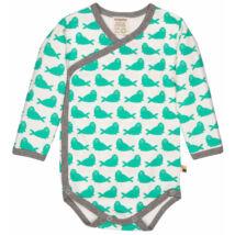 Átlapolt designer baba body prémium minőségben