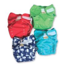 Egyméretes mosható pelenka külső - bálnás - Monapel MonaWrap Plus