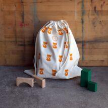 The Sorting Bags róka mintás ökozsák - L