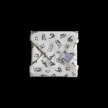 Szendvics csomagoló mosható szalvéta - Hangjegyes