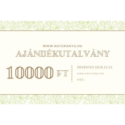 Ajándékutalvány 10000Ft