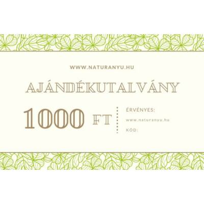Ajándékutalvány 1000Ft